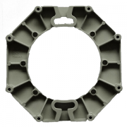 5G microwave antenna die casting mounting plate
