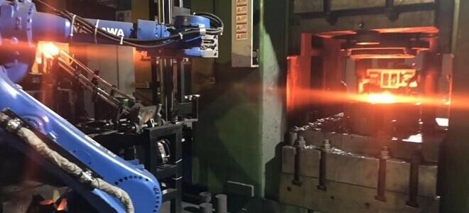 Metal forging-close-die drop forging