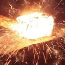 Metal forging-open die hot forging