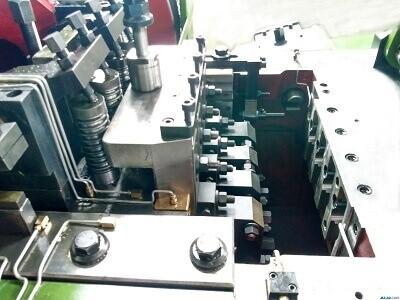 machine forging die structure