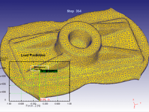 Monostrand anchor forging blank CAM simulation