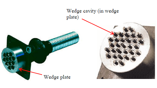 Post-Tensioning Tendon wedges&anchor block